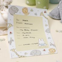 Baby Miffy Invitations (10)